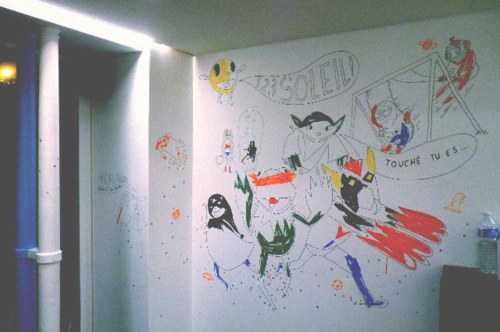 Fresque La Cantoche Paname 2